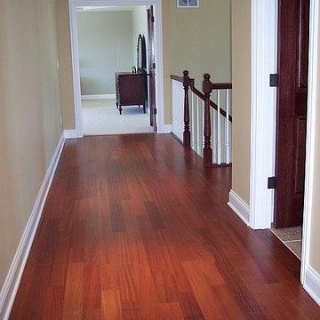 Brazilian Cherry Quartersawn Flooring - Wisconsin