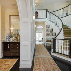 Traditional Hall by Dana Lauren Designs