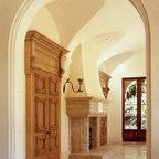 Groin Vault Hallway Mediterranean Hall Oklahoma City