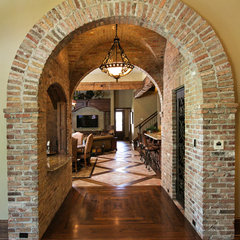 mediterranean hall by Terry M. Elston, Builder