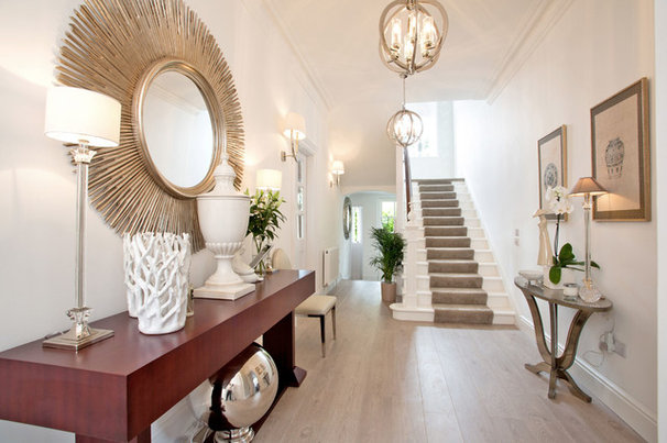 Hallways how to make an entrance with art deco style - Deco entree maison interieur ...