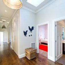 Contemporary Hall by Von Haus Design Studio