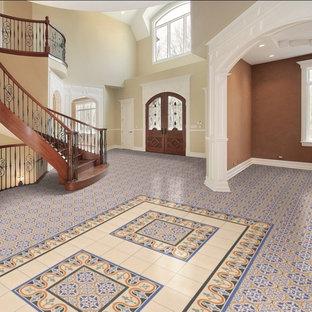 Britannia Victorian Tile Patterns - Decorative Border Tiles - Blue