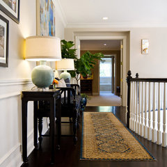 traditional hall by Charmean Neithart Interiors, LLC.