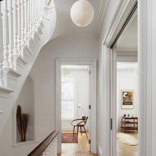 Hallway - scandinavian hallway idea in New York