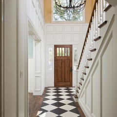 traditional hall by Brownhouse Design, Los Altos, CA