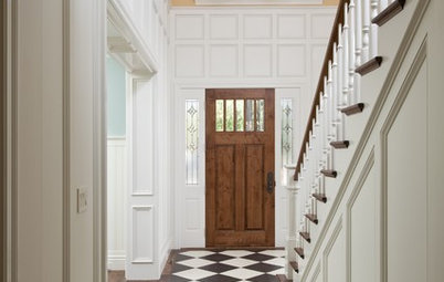 Panelled Walls Dress Up Your Living Space