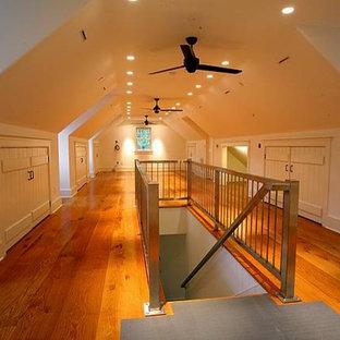 Eclectic hallway photo in Philadelphia