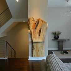 Modern Hall by Rinehart Design Group Inc.