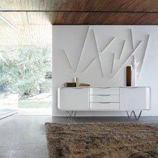 Modern Hall by Ligne Roset