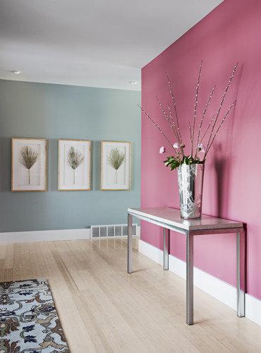 Best Hallway With Pink Walls Design Ideas Amp Remodel