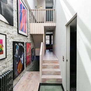 Calais Street Hallway staircase