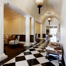 Traditional Hall by Richard W. Herb and Associates