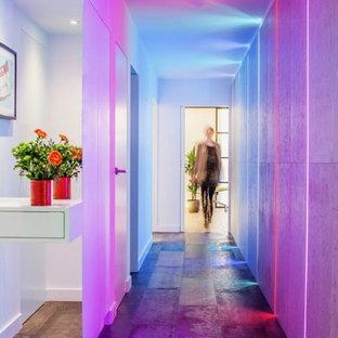 ロンドンのコンテンポラリースタイルのおしゃれな廊下の写真