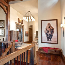 Rustic Hall by Cameo Homes Inc.