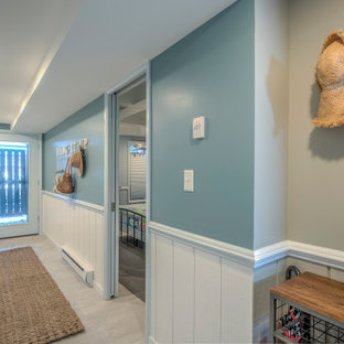This is an example of a mid-sized beach style hallway in Other.