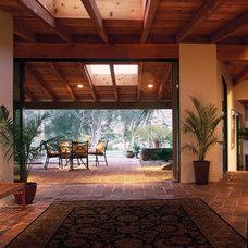 Contemporary Hall by Candelaria Design Associates