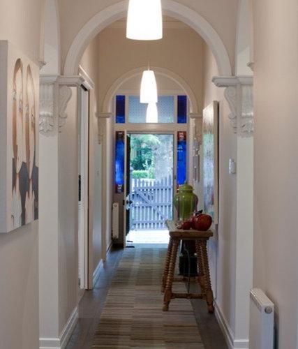 Victorian Hallway: Large Victorian Hallway Design Ideas, Renovations & Photos