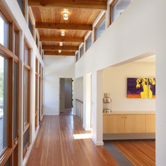 modern hall by Hammer Architects