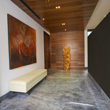 Contemporary Hall by Gilberto L. Rodriguez / GLR Arquitectos