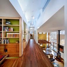 Contemporary Hall by Ellen Cassilly Architect