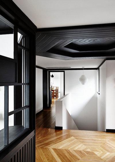 Contemporáneo Recibidor y pasillo by Jeff Karskens Designer