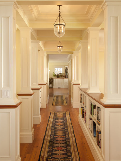 Hallway With Columns Ideas Pictures Remodel And Decor