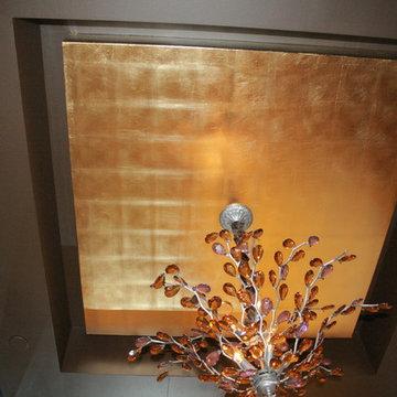 Ceiling Gold Leaf Gilding