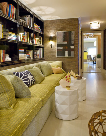 Contemporary Hall by Willey Design LLC