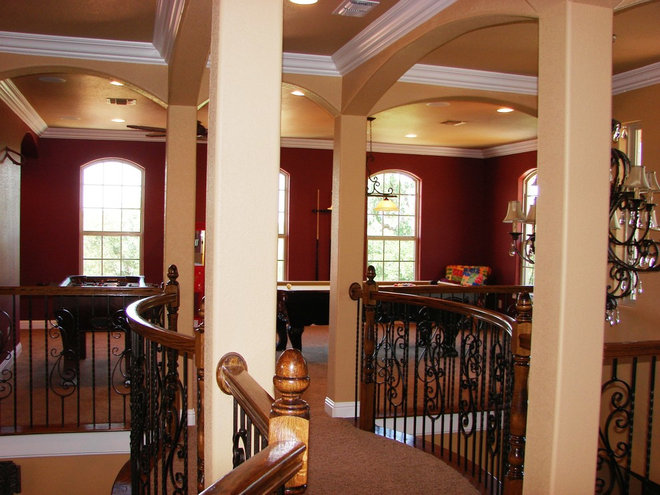 Mediterranean Hall by Summit Country Homes & Remodeling
