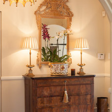 Traditional Hall by Jane Goss Designs, LLC