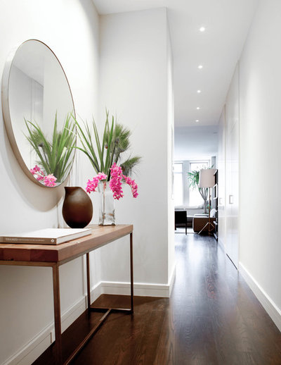 Contemporary Hallway & Landing by Wettling Architects