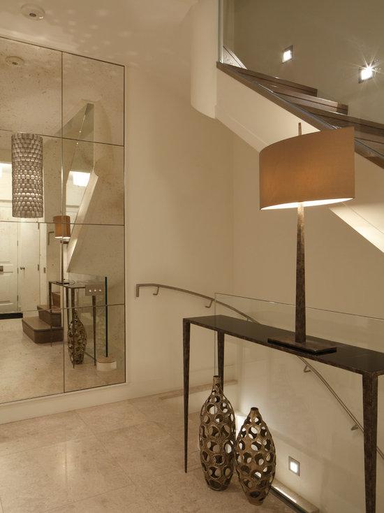 Mirror Hall Table hallway table and mirror