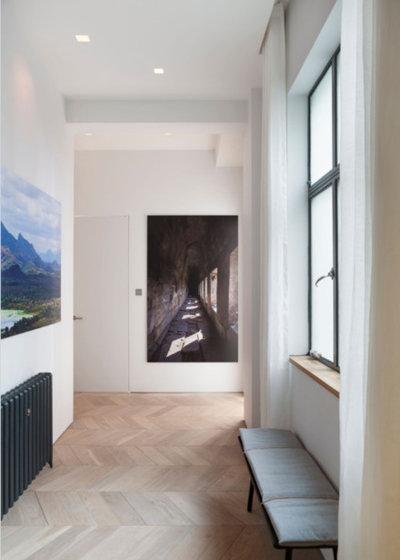 Hallway & Landing by Cheville Parquet