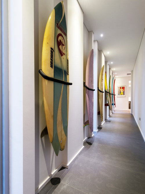 Surfboard decor ideas home design ideas pictures remodel for Surf decoration