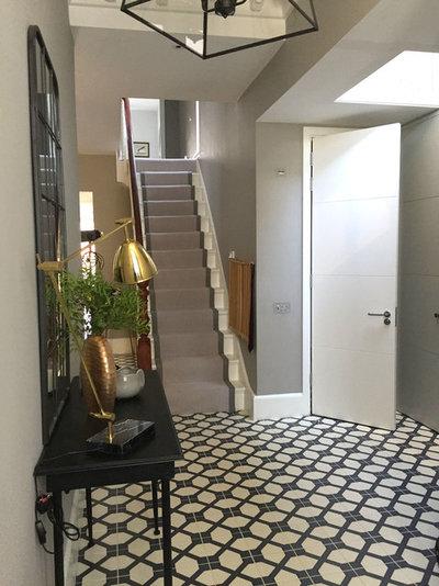 Contemporary Hallway & Landing by Moretti Interior Design Ltd