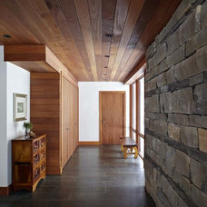 Contemporary Hall by Altius Architecture, Inc.