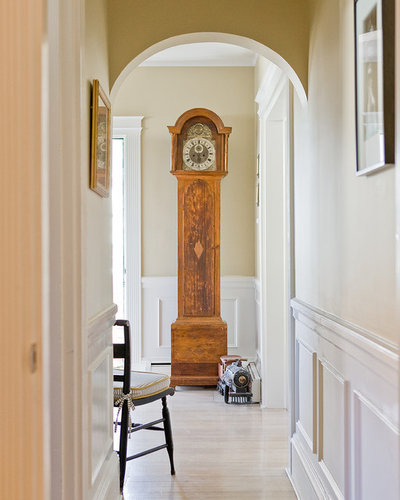 Traditional Hallway & Landing by Christine Tuttle Interior Design