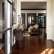 Traditional Hall by Linda McDougald Design | Postcard from Paris Home