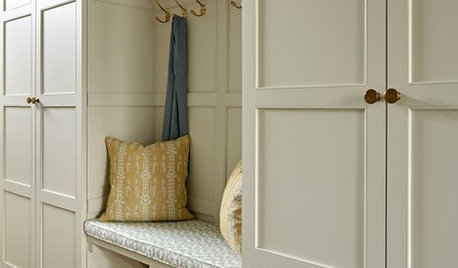 8 Clever Ideas for Designing a Hallway Cupboard