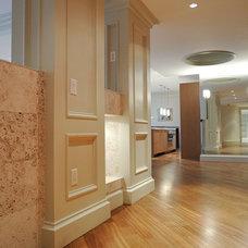 Contemporary Hall by ZeroEnergy Design