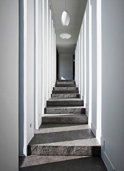Contemporain Couloir by Altius Architecture, Inc.
