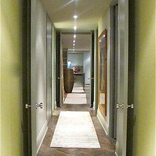 Photo of a midcentury hallway in Toronto.