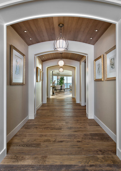 Traditional Hall by W Design Interiors