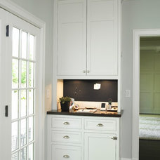 Traditional Hall by Christine Donner Kitchen Design Inc.