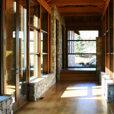 Contemporary Hall by Phillips Development