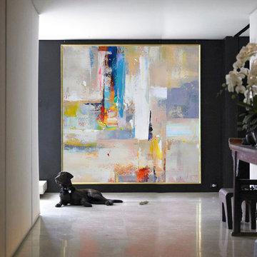 Contemporary Art/Acrylic Paintings