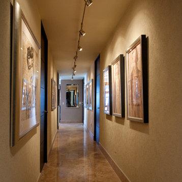 contemporary track lighting bedroom home design photos