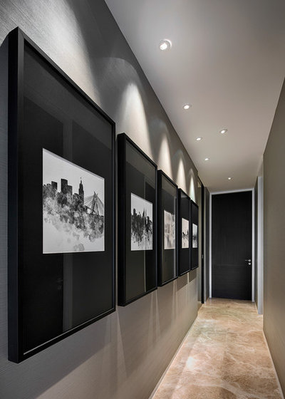 Contemporary Hall by Creative Mind Design