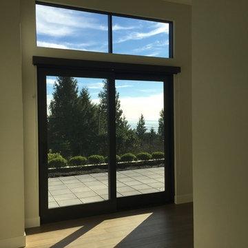 Contemporary Dark Windows & Doors